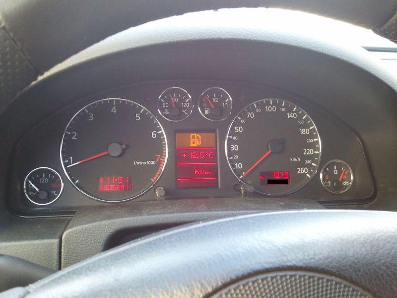 Chrom Tachoringe verbaut Audi A6 4B Chrom Tachoringe   mein audi a6 avant