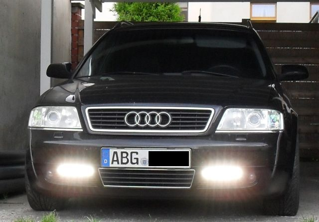 Bildergalerie Audi A6 4B Tagfahrlicht Hella Ledayline Bild1   mein audi a6 avant